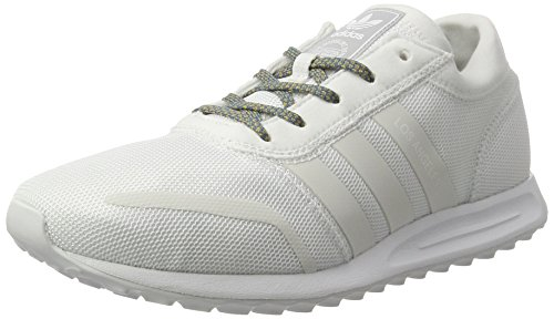 adidas Los Angeles, chaussure de sport homme Blanc Cassé (Ftwr White/ftwr White/lgh Solid Grey)
