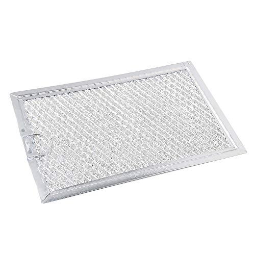 Aktivkohlefilter Filter passend für diverse Dunstabzugshaube Abzugshaube Mikrowelle Haube aus dem Hause Filter Fettfilter Aluminium Ersatz für Filter (13x19.3x0.24cm / 5.11x7.67x0.09
