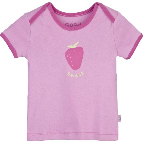 Life is Good Baby Sweet Strawberry Ringer Tee, Mädchen, Peony Pink (Ringer Kinder T-shirt Mädchen)