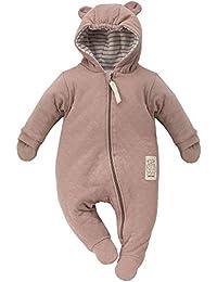 47b9b371f49d2 FlikeFashion Pinokio TEDDY BEAR Baby-Mädchen Jungen wärmender Overall mit  Kapuze