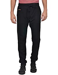 YOO Men's Solid Looper Casual Track Pant - B01N6TZ7IC