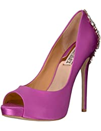 Badgley Mischka Women's Kiara Pump, Pink, 8 M US