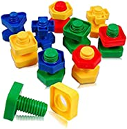 Educational Toy Screws & Plastic Hitch Decoding & Assembling, Twisting & Rot