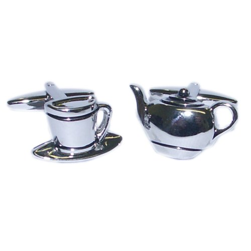 silver-tea-pot-cup-deluxe-cufflinks-with-gift-pouch-cafe-barista-coffee-shop