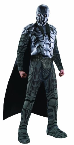 Rubie's Superman Man Of Steel Official Fancy Dress Deluxe Adult Muscle Chest General Zod Costume