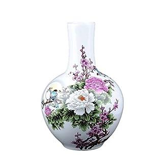 LPYMX Florero Jarrón jarrón de Porcelana de Estilo Chino jarrón de cerámica florero Decorativo de Arte para la Familia