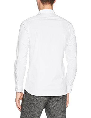 SELECTED HOMME Herren Businesshemd Shdonephil Shirt Ls Noos Weiß (White)
