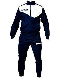 Tuta Legea M1110 Messico da Uomo Completa Giacca e Pantalone Training Sportiva