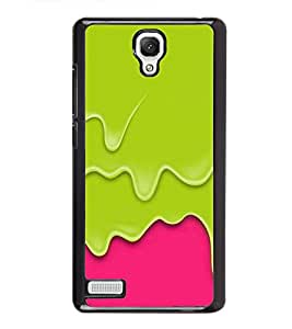 Drainig colors Back Case Cover for XIAOMI REDMI NOTE