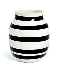 Kähler Omaggio vase Sort H20 cm by Kähler Design