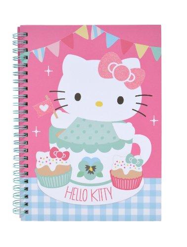 Hello Kitty - Spiralnotizbuch A5 Tea Party (Hello Party Tea Kitty)