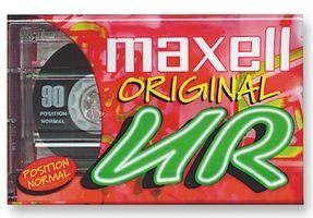 Maxell Audio-Kassetten, 90min, 20Stück