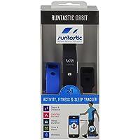 Runtastic Läufer-Kit 1 für den Winter, mit 1 Orbit-Armband zur Überwachung von Aktivität/Fitness/Schlaf, 1 Herzfrequenzgurt mit Bluetooth Smart, 1 Sportgurt für den Arm sowie 1 tragbare Lampe für Arm/Fußgelenk, Bunt/Schwarz