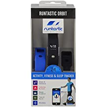 Runtastic Winter Runner Kit avec 1 bracelet Orbit pour mesure d'activité/fitness/sommeil, 1 bande Cardio Bluetooth Smart, 1 brassard sportif et 1 lampe pour bras/cheville Multicolore/noir