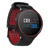 Smart Watch, Bluetooth Fitness Tracker, Wasserdichte Sportuhr für Männer, Frauen, Farbbildschirm Pulsmesser, Smart socken für Android iOS, 3 Farben optional