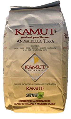 5 Kg Farina Di Kamut Grano Khorasan'tipo 0' -molino Zappala'- Prodotto Biologico