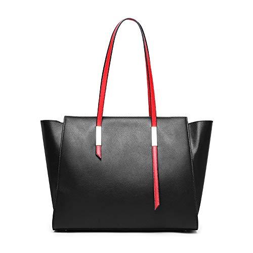 Jiudou Tasche weibliche große Kapazität One-Shoulder-Handtaschen Tote Bag Damen Handtasche Schräg Tasche Mode einfach lässig Umhängetasche -