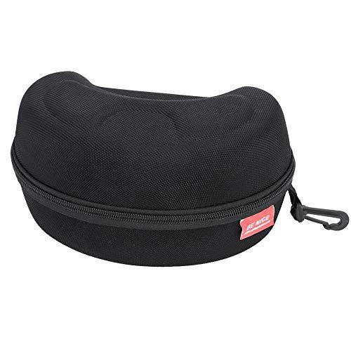 Tbest custodia per occhiali,occhiali da sci da box snow goggles case eva occhiali da sci custodia protettiva rigida borsa da snowboard custodia nera