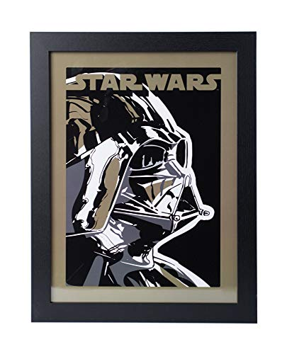 41EgDJ16HCL - Grupo Erik PE30X40CM0018 Cuadro Decorativo Star Wars Darth Vader, Darth Vader
