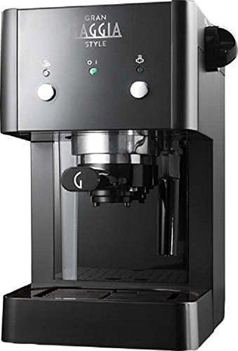 Gaggia RI8423/11 coffee maker - coffee makers (freestanding, Manual, Espresso machine, Ground coffee, Espresso, Coffee, Black) by Gaggia