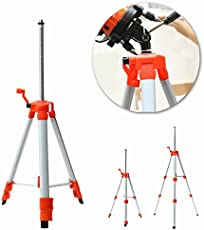 Rishil World Universal Portable Metel Tripod Stand Extension Type for Laser Air Level with Bag