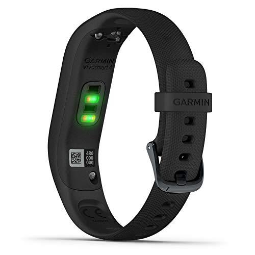 Garmin vívosmart 4 Fitness-Tracker - stilvolles Design, Herzfrequenzmessung am Handgelenk, Schlafanalyse - 5