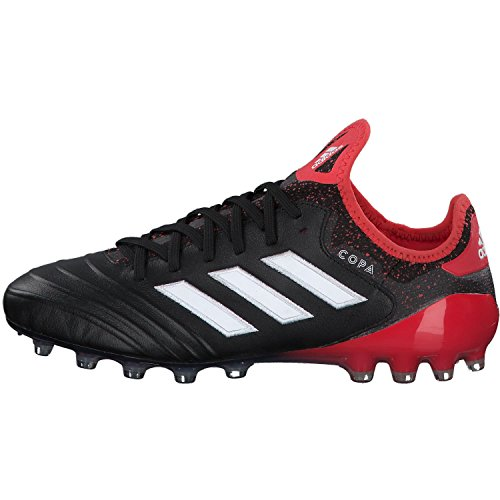 adidas Copa 18.1 AG, Chaussures de Football Homme Noir (Core Black/ftwr White/real Coral S18)