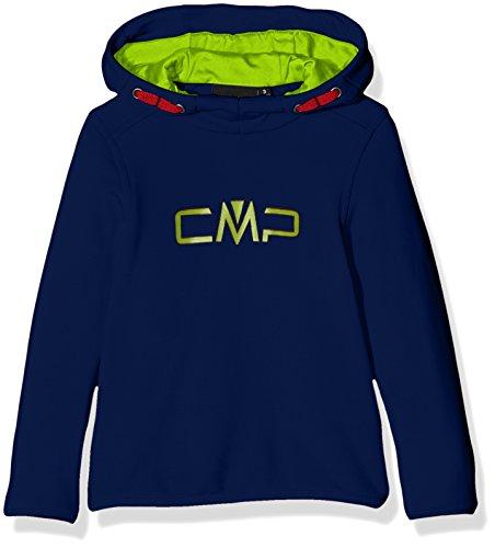 CMP F.lli Campagnolo Jungen Fleece Sweat, Nautico, 110, 3E14344 (Nautica Pullover Für Jungen)