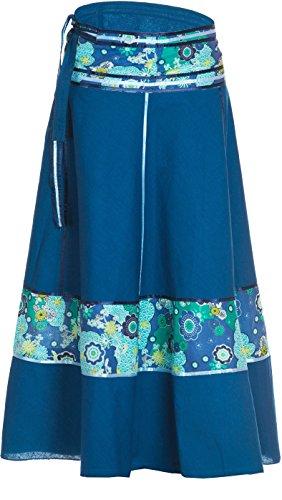 45f808d8c5 ufash Falda cruzada - falda maxi de la India
