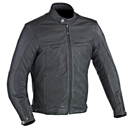 Ixon–Giubbotto moto–IXON Copper Slick–Nero–XXL