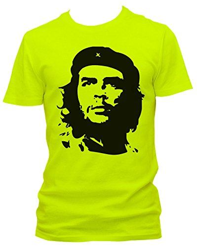 NEON Herren T-Shirt J.Roxx Che Guevara Fun , Größe:XL;Farbe:neon gelb