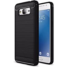 ZAPCASE Samsung Galaxy J7 Nxt Back Cover Case, Heavy Duty Shock Proof TPU Case , Premium Protection, Metallic Black