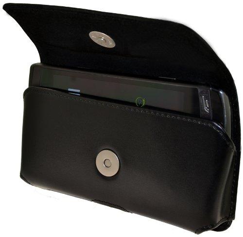 Original MTT Quertasche fuer - Samsung GT S8530 Wave 2 - Horizontal Tasche Ledertasche mit Clip und Sicherheitsschlaufe (MTT Produkt) fuer S-8530 Wave2
