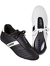 KWON Dynamic - Zapatillas de Entrenamiento para Artes Marciales, Color Negro y Blanco, Color Negro - Negro, tamaño 39