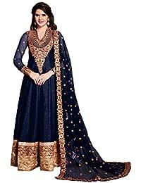 507224121462 Amazon.in  Anarkali - Dress Material   Ethnic Wear  Clothing ...