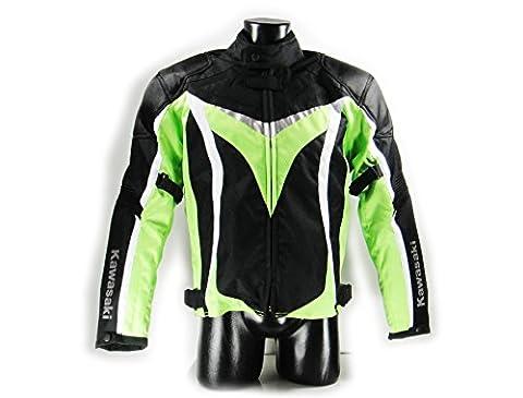 Blouson Moto Xl - Kawasaki nINJA blouson de moto en tissu