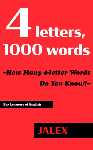 Four Letter O Words.4 Letters 1000 Words How Many 4 Letter Words Do You Know