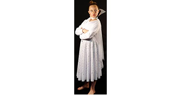 eef24f01c930 Lion Witch & The wardrobe-Chronicles of Narnia-World Book Day SNOW QUEEN- DRESS-FANCY DRESS COSTUME AGE 7-8