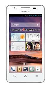 Huawei G525 Smartphone débloqué 4.5 pouces Android 4.1 Jelly Bean Bluetooth USB Blanc