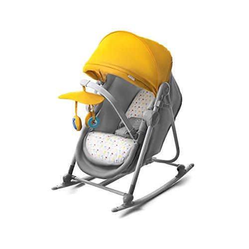 Kinderkraft Unimo Babywippe Babyschaukel Baby Wippe Liege Wiege Babysitz Top Neu Gelb - Moderne Baby-wippe