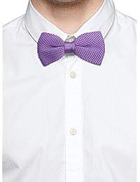 Tossido Knitted Purple Subtle Bow Necktie (TBNK04)