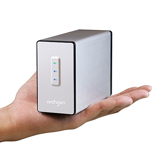 Archgon MINI RAID USB 3.0 Aluminum Gehaeuse für Dual 2.5