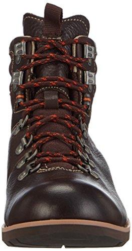 Clarks Padley Alp Gtx, Chaussures de randonnée montantes homme Marron (Dark Brown Lea)