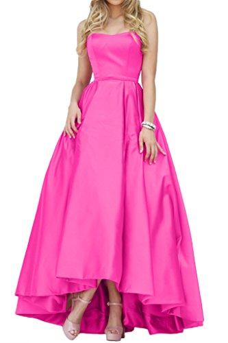 Promgirl House - Robe - Trapèze - Femme Rose - Rose bonbon