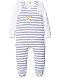 Steiff Unisex - Baby Crew Neck Long - regular Romper Suit