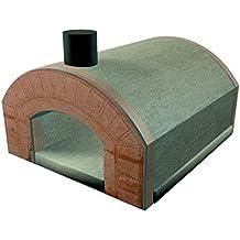 Forno a legna refrattario prefabbricato esterno famiglia 3 pizze 25 cm Capri
