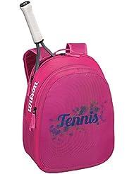 Wilson Match JR Backpack PKBL - Mochila para niña, color rosa / azul, talla única
