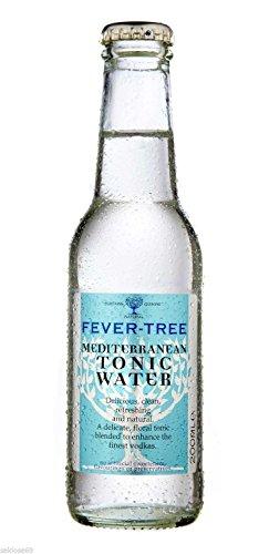 12 Flaschen Fever-Tree Mediterranean Tonic Water 12 x 200ml inkl. Pfand Fevertree Fever Tree