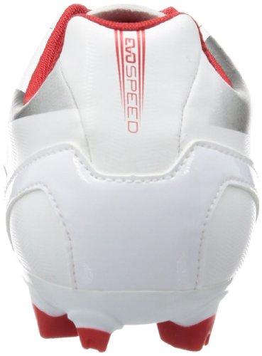Puma evoSPEED 5.2 FG 102877 Herren Fußballschuhe Schwarz (white-aged silver-high risk 03)