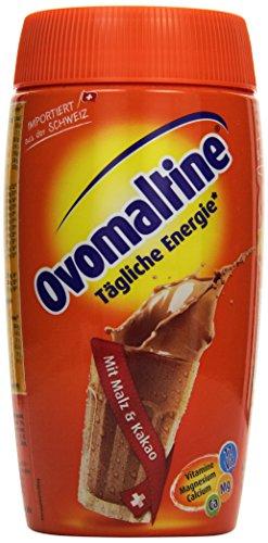 Ovomaltine Getränkepulver Dose, 1er Pack (1 x 500 g) Spielen Schokolade Milch